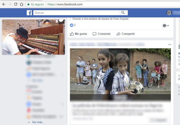 vídeos de Facebook en una ventana flotante