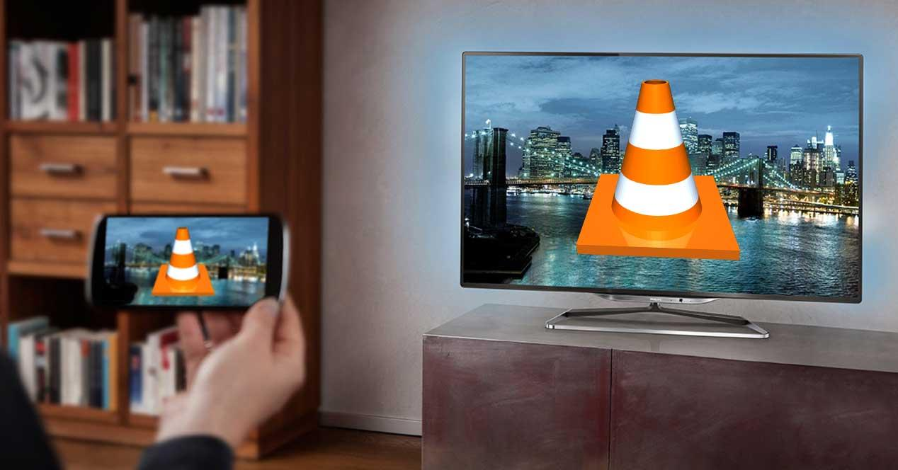 vlc-remote-television
