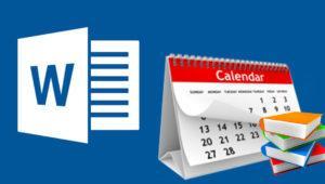 Cómo crear un calendario escolar personalizado en Word