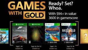 Juegos gratis para Xbox One y Xbox 360 en septiembre 2017