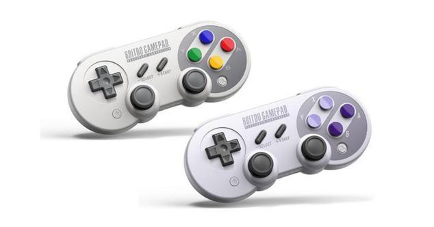 Ver noticia '8Bitdo estrena mandos Bluetooth para Nintendo Switch inspirados en SNES'