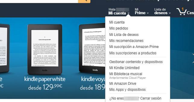 historial de Amazon