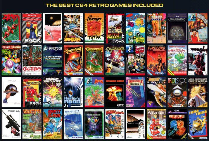 c64 mini juegos