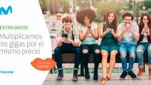 Movistar aumenta los gigas de Extra de Datos sin subir el precio