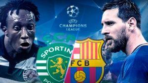 Cómo ver en directo el Sporting de Lisboa – Barcelona de Champions por TV, internet o el móvil