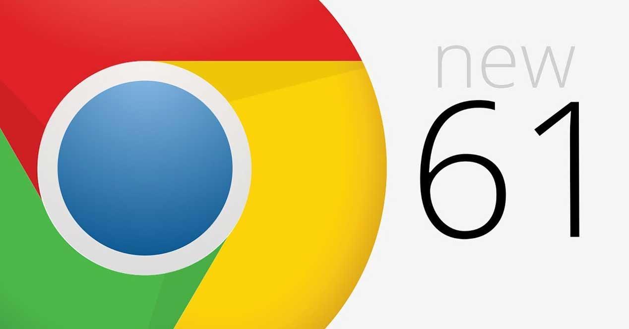 google chrome 61 novedades