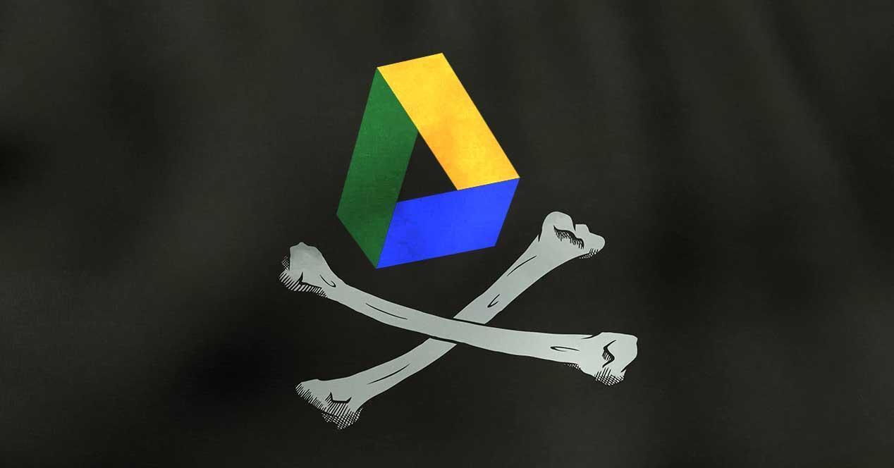 Google Drive pirateria