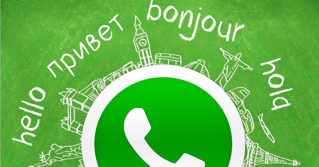 idioma de whatsapp