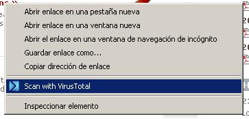 virusTotal para saber si no tiene virus