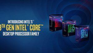 Intel Coffee Lake de 8ª gen ya es oficial: hasta un 25% mejor en juegos