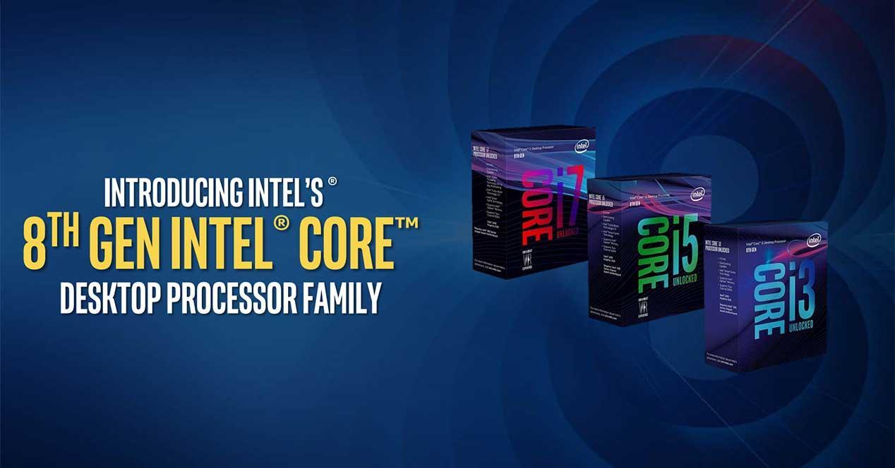 Intel Coffee Lake 8ª gen escritorio i7-8700K