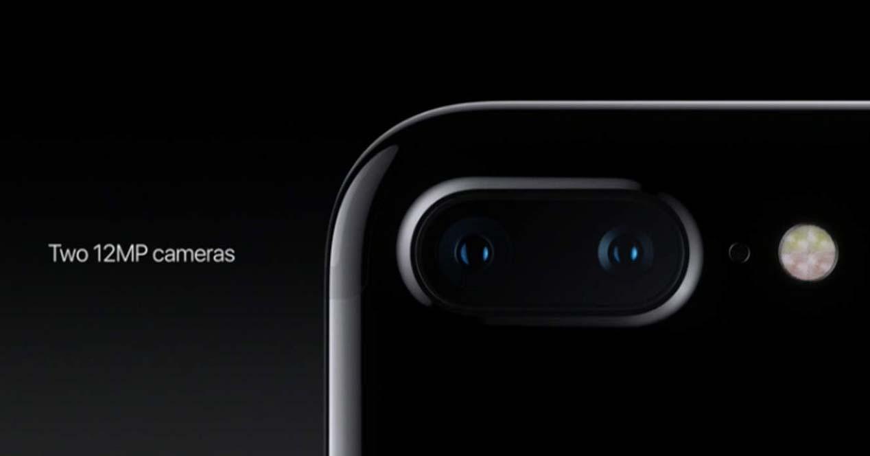 iphone 7 plus camara