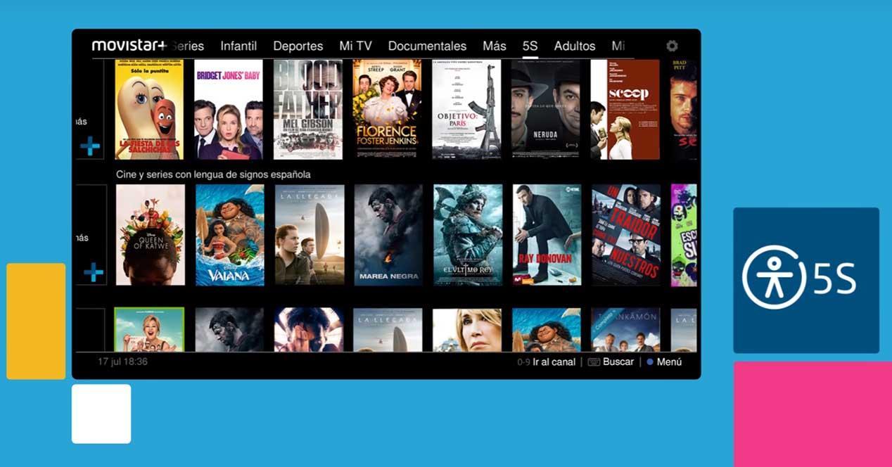 Ver noticia 'Noticia 'Series y películas accesibles para personas con discapacidad, sólo en Movistar+ 5S''