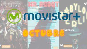 Estrenos Movistar+ octubre 2017: series, películas y documentales
