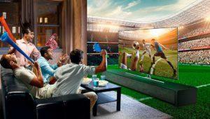 Los partidos del Barcelona y el Real Madrid se podrán ver en 4K UHD en algunos televisores Samsung