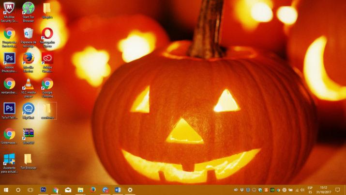 Windows 10 para Halloween