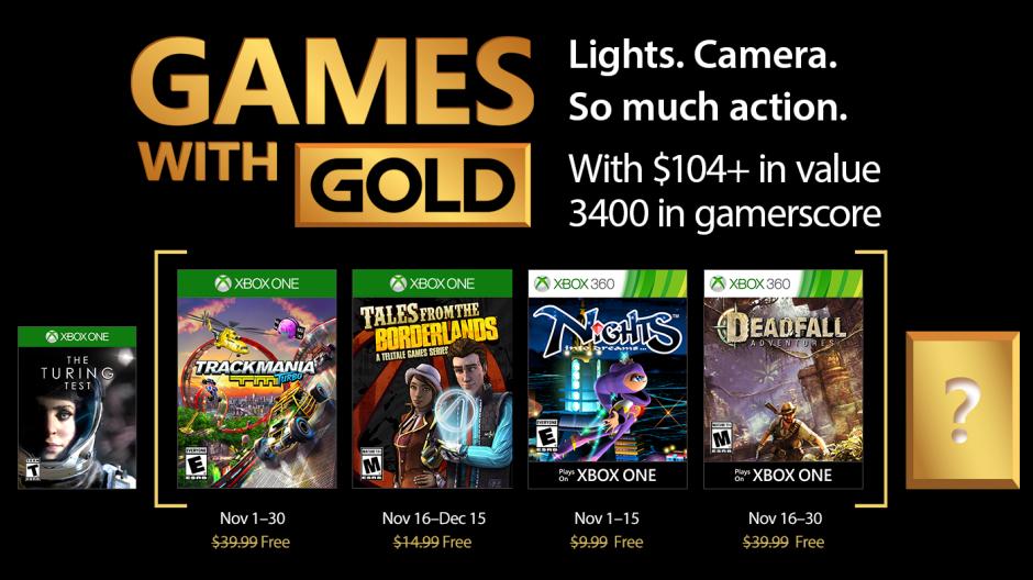 Juegos Gratis Para Xbox One Y Xbox 360 En Noviembre 2017 Con Games