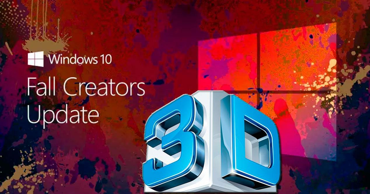 Objetos 3D en windows 10