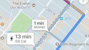 Google retira las calorías quemadas de Google Maps