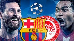 Cómo ver en directo el Barcelona – Olimpiacos de Champions por TV, online y desde el móvil