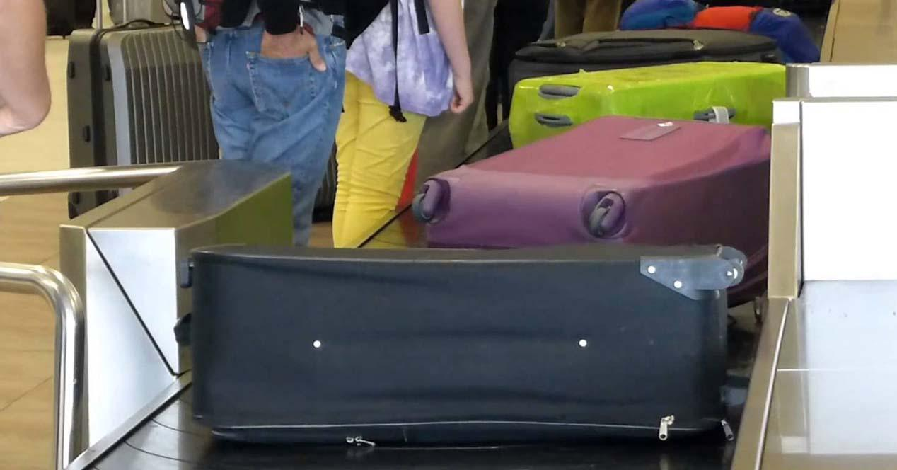equipaje avion