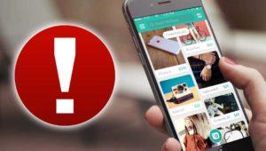 """Nueva estafa en Wallapop: cuidado, no hay una """"app patrocinada"""""""