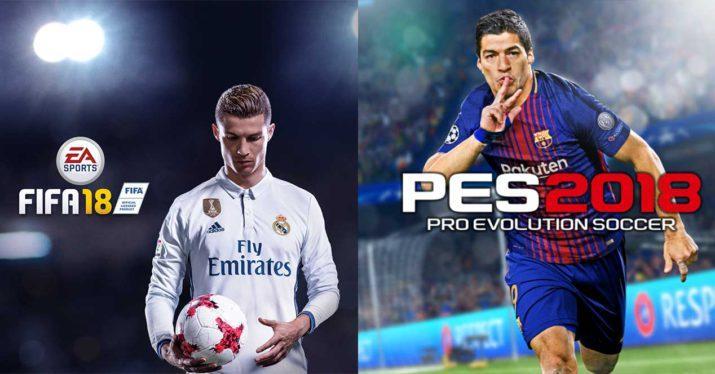 FIFA 18 o PES 2018