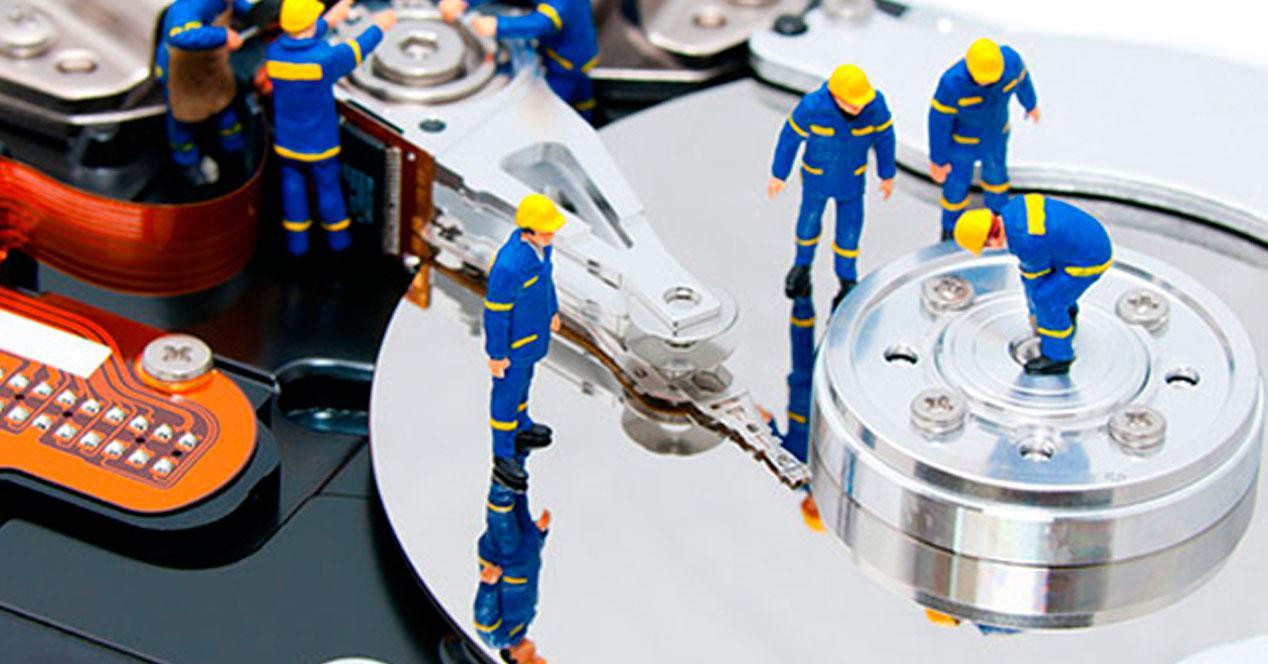 formatear el disco duro