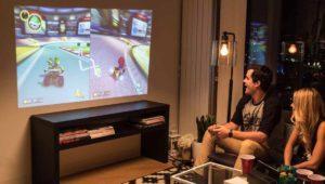 El mejor dock de Nintendo Switch tiene su propio proyector ¡adiós pantalla!
