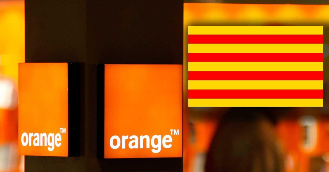 orange cataluña