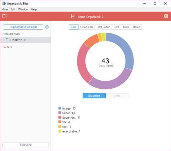 organizar automáticamente tus archivos