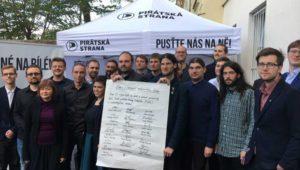 El Partido Pirata se convierte en la tercera fuerza de la República Checa