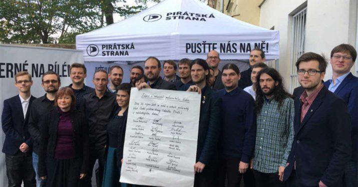 partido pirata república checa