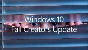 Cómo mejorar la privacidad en Windows 10 Fall Creators Update