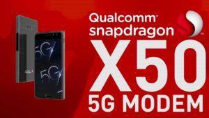 Los primeros móviles 5G llegarán en año y medio gracias al Qualcomm Snapdragon X50
