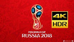 Todos los partidos del Mundial de Rusia 2018 se emitirán en 4K UHD y HDR