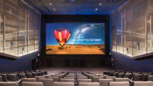 Samsung anuncia la primera sala de cine con pantalla HDR LED
