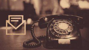 Esta era la carta que recibías al solicitar el teléfono hace 40 años
