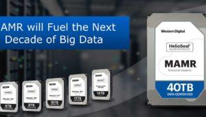 Western Digital tendrá discos duros de 40 TB en 2025 gracias a MAMR