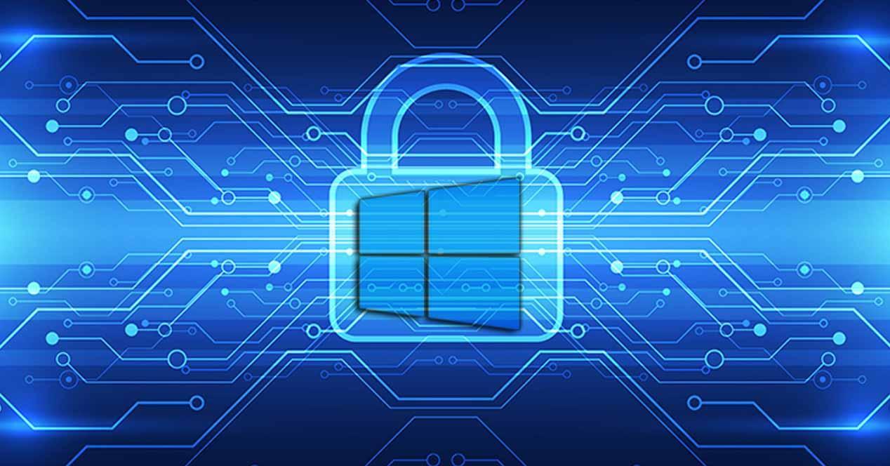windows 10 security