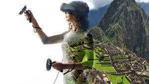 Samsung presenta sus gafas VR con auriculares: jugar nunca fue tan inmersivo