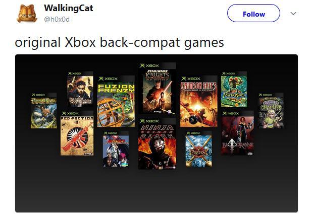Compatibilidad Xbox original