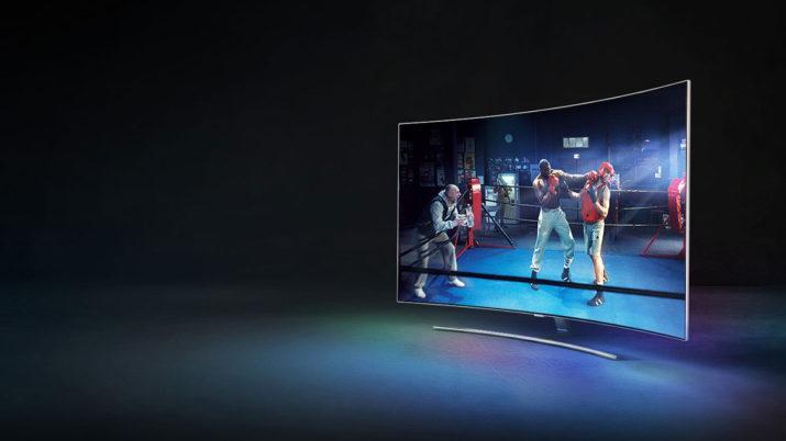 Televisión curvada 4K