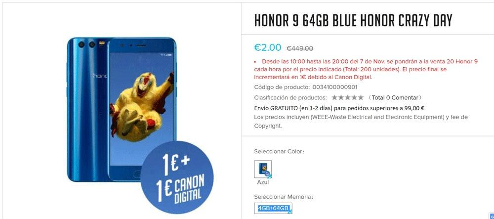 Honor 9 promo