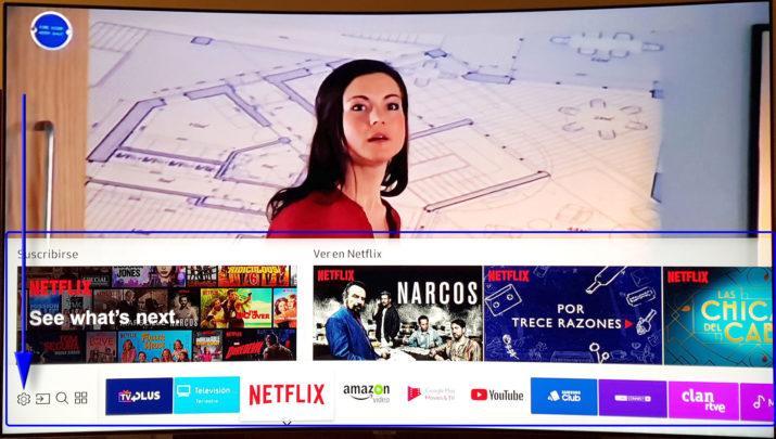 Samsung QLED TV Netflix