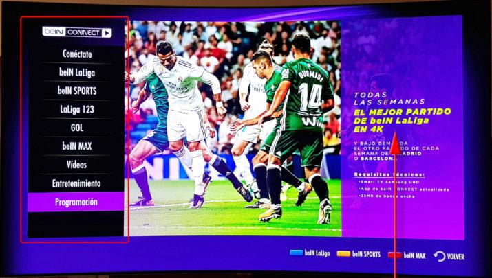 Samsung QLED TV Bein