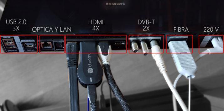 Samsung QLED TV Conexiones
