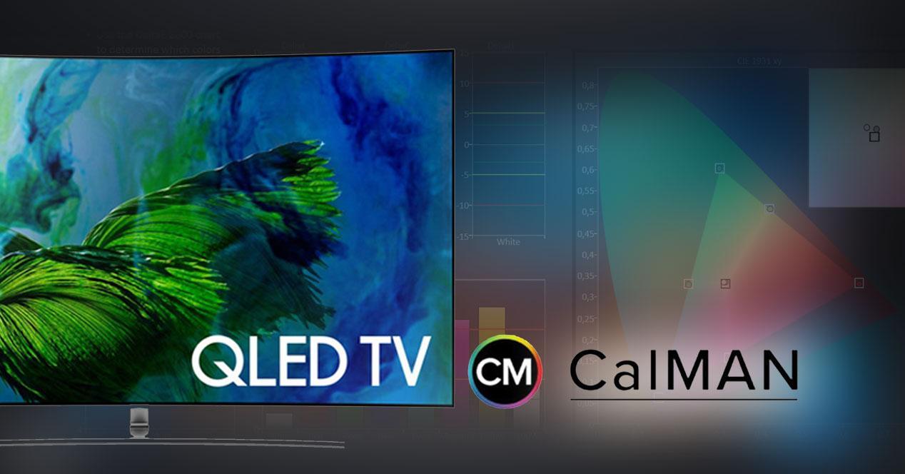 Samsung QLED con CalMan