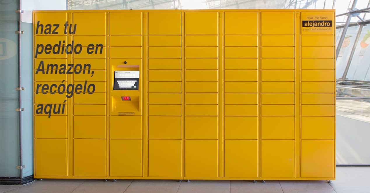 Amazon locker llega a espa a taquillas inteligentes para for Oficinas jazztel madrid