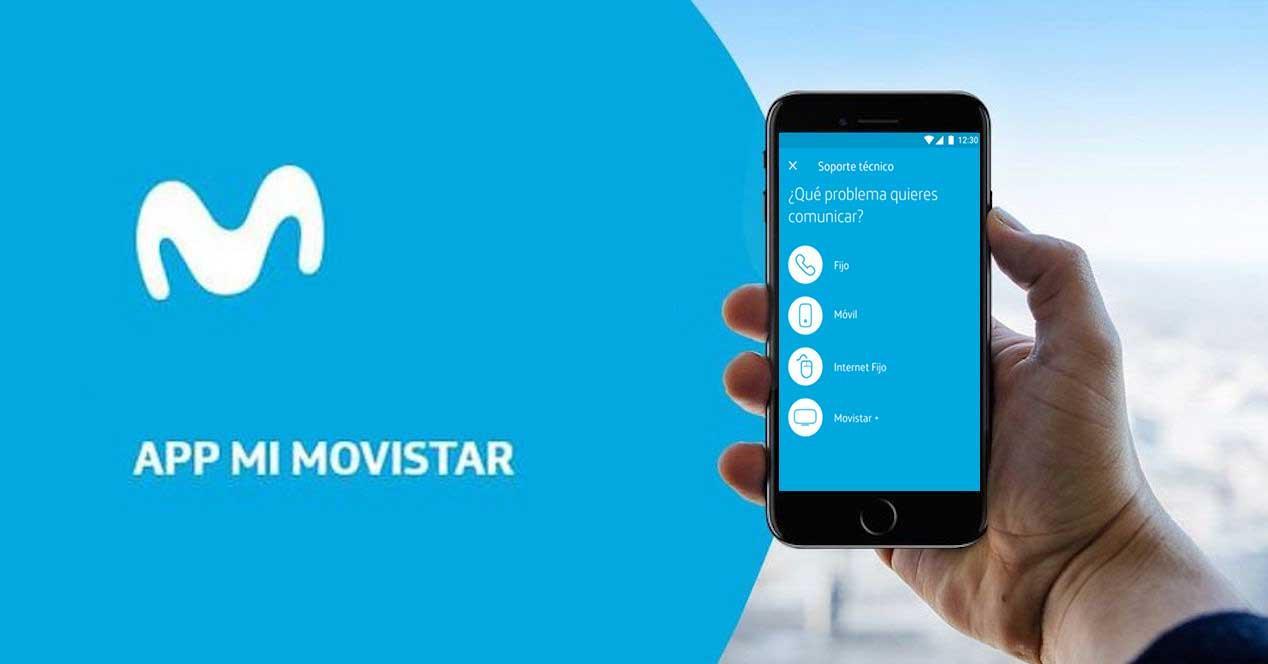 app mi movistar servicio técnico